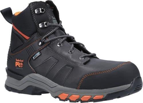 Timberland Pro Hypercharge Work Boots Safety Black / Orange